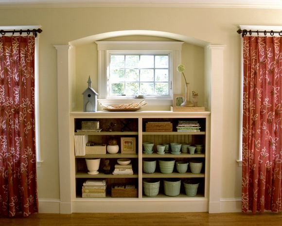 Brantwood Built-In Bookcase